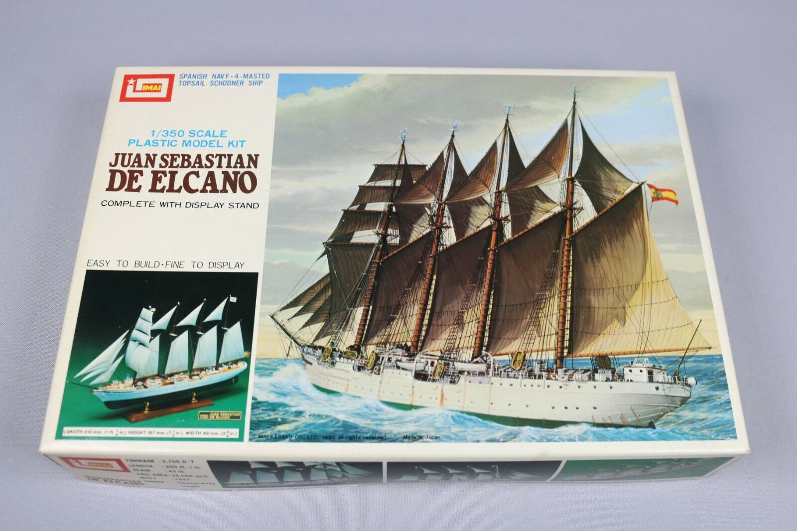 Zf935 Imai 1 350 Model Boat B-937 Juan Sebastian of Elcano Spanish Navy