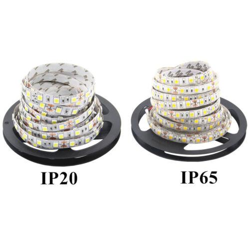 RGB Warm//White LED Strip KITS 3528//5050 5M 300LEDS Key Remote+Power+Led Strip