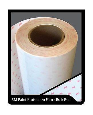 "Genuine 3M Scotchgard Paint Protection Film Clear Bra Bulk Roll Film 4/'/' x 180/"""