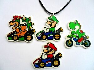 New-MARIO-KART-Leather-Necklace-Four-to-Choose