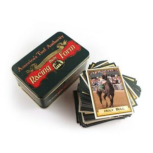 Details about America's Turf Authority Racing Daily Form 100th Anniversary  Trading Cards