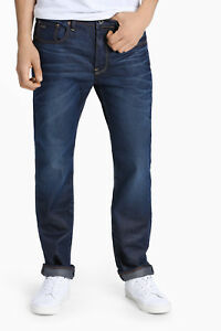 NEW-G-Star-Straight-Jean-Dark-Denim