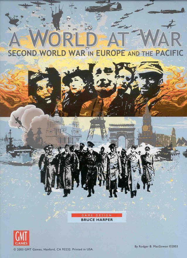 Un Monde at War: Second World Guerre Wargame,New, en Europe et the Pacific GMT Wargame,New, Guerre 8bc132