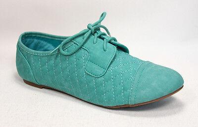 Oxfords Flat Round Toe Lace Up Women's Cambridge Sandal Shoes Size 5.5 - 11