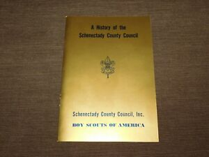 VINTAGE BSA BOY SCOUTS OF AMERICA 1965 HISTORY  SCHENECTADY COUNTY COUNCIL BOOK