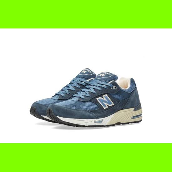 Schuhe neu Balance-m 991 dbw (dusty blau) UK-11