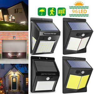 96LED-Solar-Wall-Way-Lamp-Light-PIR-Motion-Sensor-Waterproof-Garden-Outdoor-Yard