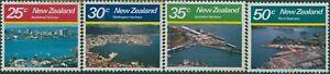 New-Zealand-1980-SG1221-1224-Large-Harbours-set-MNH