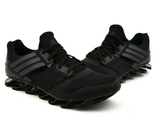 adidas Springblade Solyce Mens Black Cushioned Running Road Shoes Trainers  UK 9