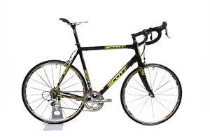 Scott CR1 'Saunier Duval' Team Carbon Road Bike 2x10 Dura-Ace Mavic 61cm / Large