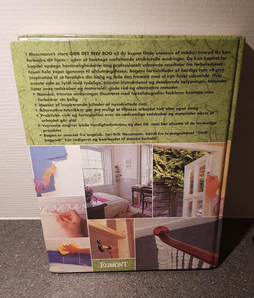 Messmann's Store gør det selv bog, emne: hus og have