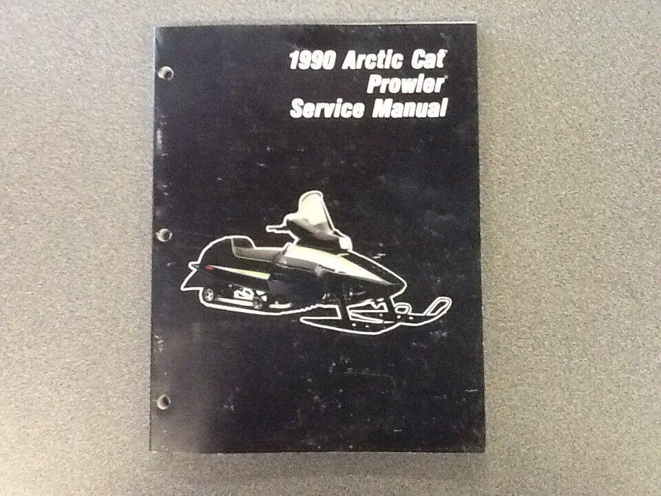 ARCTIC CAT OEM SERVICE MANUAL 1990 PROWLER 2254-578