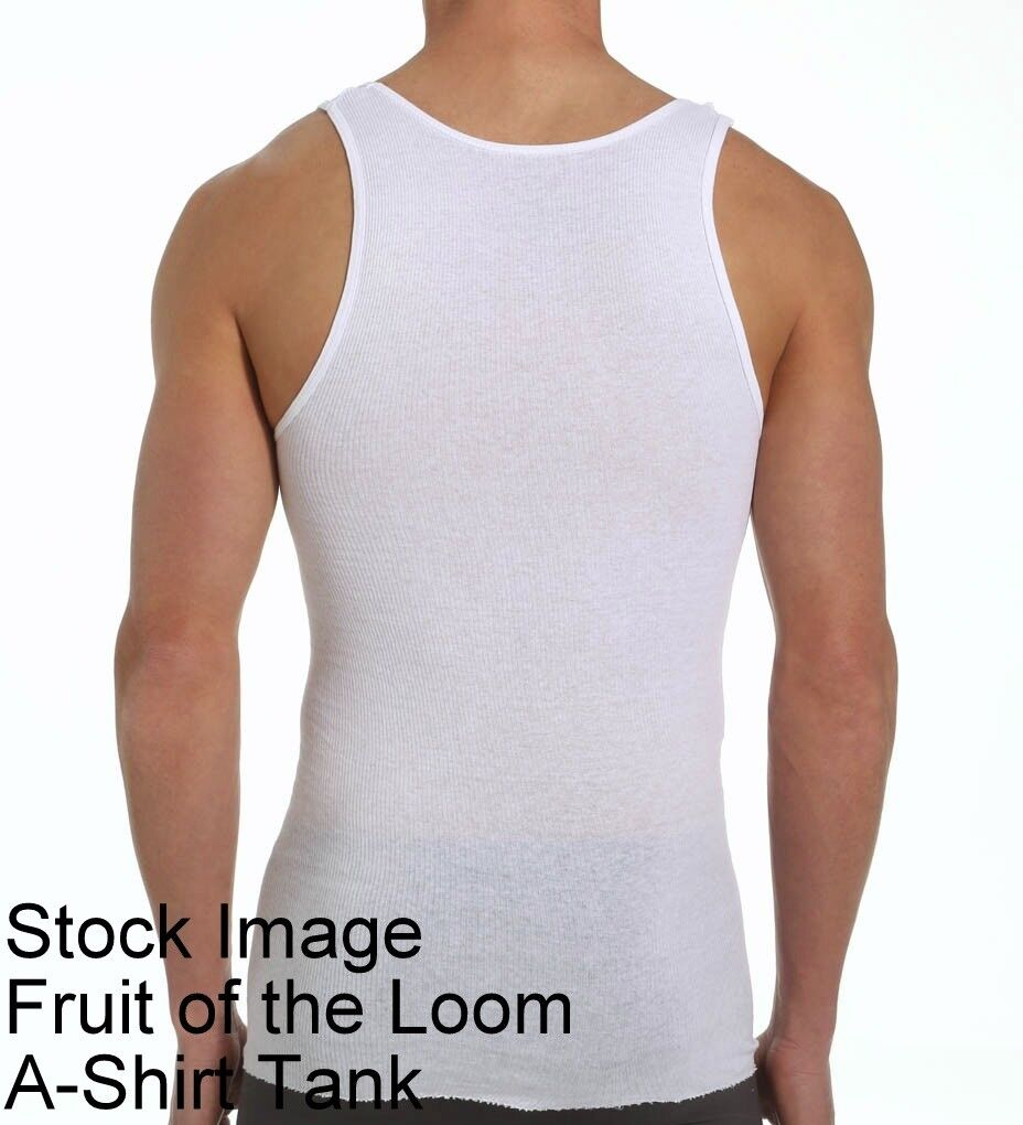 21 Bianco MEDIUM M M M 96.5-102cm Fruit Of The Loom Canotta Top Tanks 97-102 Cm 8dc756