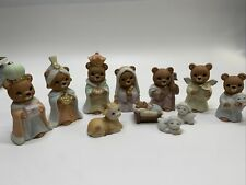Set of two vintage homecoming 1980\u2019s bears figurines