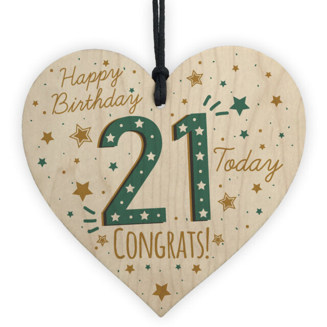 Happy Birthday Gifts 21st Decorations 21 Accessories Best Friend Gift For Her Sale Online