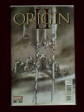 Origin II #1 1:100 Kubert Sketch Variant NM (2014) Marvel Comics / Wolverine