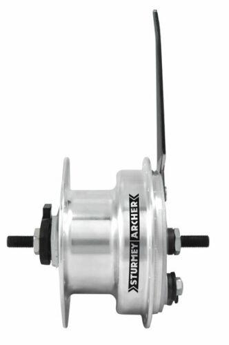 Sturmey Archer XL-FDD Dynamo 3.0 front hub+90mm drum brake 36h