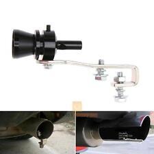 Universal Car Turbo Sound Blowoff Simulator Exhaust Muffler Pipe Whistle Black M