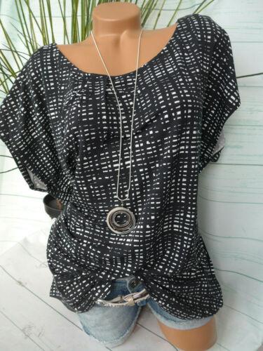 Sheego blusa señora túnica camisa talla 40 hasta 56 manga corta blando y bajando 059