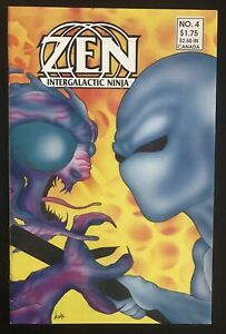 Zen-Intergalactic-Ninja-3-1987-Original-First-Printing-Comic-Book