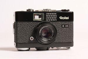 Pristine-Black-Rollei-B35-Camera-40mm-f3-5-Triotar-Lens