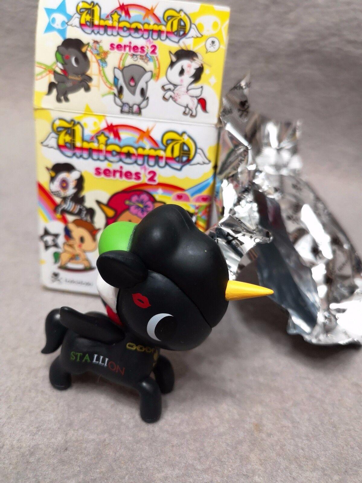 RARE Tokidoki Unicorno Series 2 Chaser Mario 2.5  Figurine en vinyle avec boite