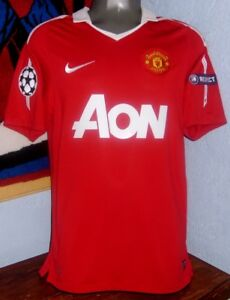 finest selection e5604 23ea0 Details about NIKE MANCHESTER UNITED MAN UTD CHAMPIONS 2011 CHICHARITO  ORIGINAL JERSEY SHIRT