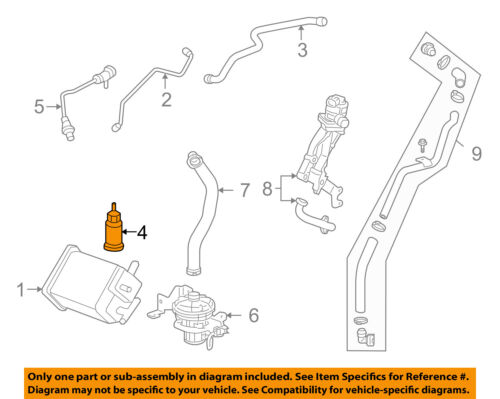 GM OEM Vapor Canister-Vent Solenoid Valve 20952523