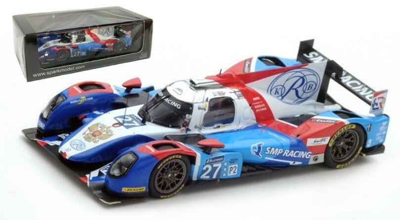 Spark S5112 BR 01-Nissan 'SMP Racing' Le Mans 2016 - 1 43 Scale
