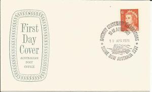 100% Vrai Australie 1971 Railway Centenary Celebrations Scone Nsw Ide Fdc First Day Cover-afficher Le Titre D'origine Soulager Le Rhumatisme Et Le Froid