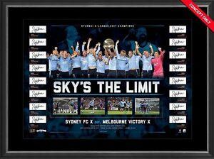 SYDNEY-FC-2017-A-LEAGUE-CHAMPIONS-TEAM-HAND-SIGNED-LIMITED-FRAMED-PRINT-VUKOVIC