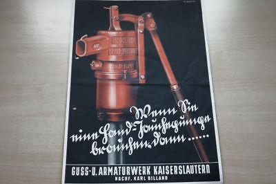 197068) Rekord Triumphator Pumpe Prospekt 194? Reines Und Mildes Aroma