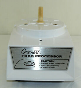 Cuisinart-Robot-Coupe-Food-Processor-CFP-5A-Replacement-White-Motor-Base-WORKS