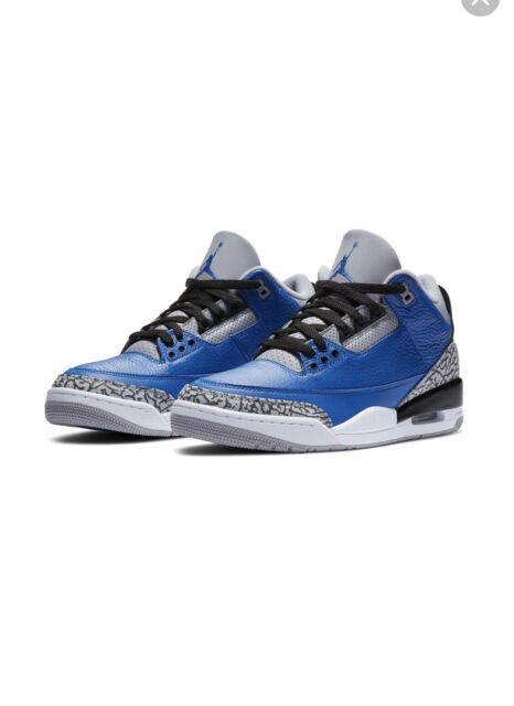 Size 11 - Jordan 3 Retro Varsity Royal
