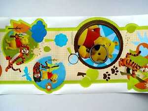 alkor selbstklebende bord re border 3m x 30cm disney winnie the pooh 62590 ebay. Black Bedroom Furniture Sets. Home Design Ideas