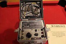 ARMY MILITARY SURPLUS GRM-55  RADIO CIRCUIT TEST SET PRC 77 25 HAM FIELD PHONE A