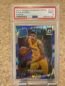2017 Panini Donruss Optic Shock #174 Kyle Kuzma Rookie RC Lakers PSA 9 MINT B91