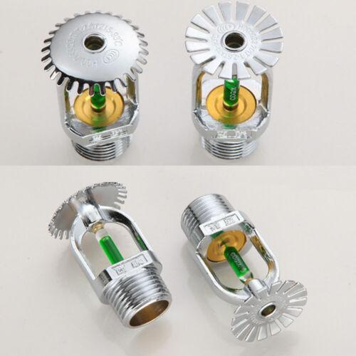 "5pc Brass Pendent Fire Sprinkler Head 1//2/"" Quick Response 93 degree,Free Ship"