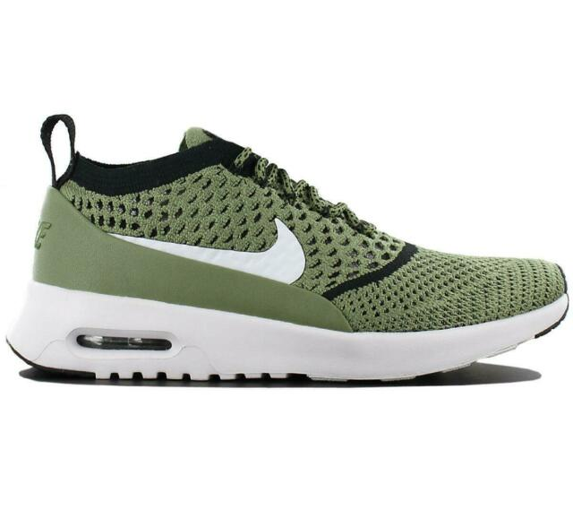 Nike WMNS Air Max Thea Ultra FK Flyknit Green White Women Shoes NSW 881175 300 UK 4.5