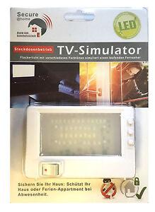 LED-TV-Simulator-Kompakt-Fernseh-Attrappe-37-LEDs-Dummy-Einbruchschutz