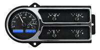 Dakota Digital 48 49 50 Ford Pickup Truck Gauge System Black Blue Vhx-48f-pu-k-b