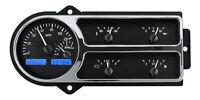 Dakota Digital 48 49 50 Ford Pickup Truck Gauge System Black Blue Vhx-48f-pu-k-b