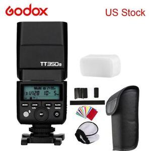 Godox-TT350S-TTL-Camera-Flash-D-Type-Bracket-for-Sony-A6000-Mirrorless-Camera