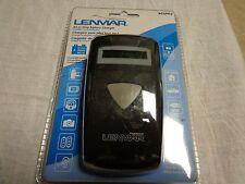 Lenmar Bcuni3 Adjustable 3.6v 7.2v li-lionBattery Charger w/ LCD Display