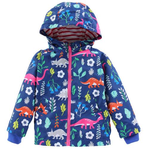 Jungen Mädchen Kinder Kapuze Winterjacke Langarm Mantel Herbst Hooies Hooded Top