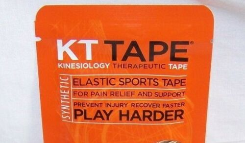 crossfit NEW KT Tape PRO Synthetic 2 Strip Pack Kinesiology Therapeutic Tape