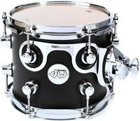 Dw Design Series Rack Tom - 8, Satin Black on sale