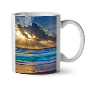 Nature Landscape Water NEW White Tea Coffee Mug 11 oz | Wellcoda