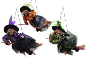 Hexe 45 Cm Sound Faschingsdekoration Hexenfiguren Hexen Deko Halloween Ebay