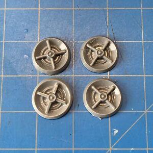 Resin-Set-of-4-Dodge-Lancer-Four-Bar-Hubcaps-Wheels-Covers